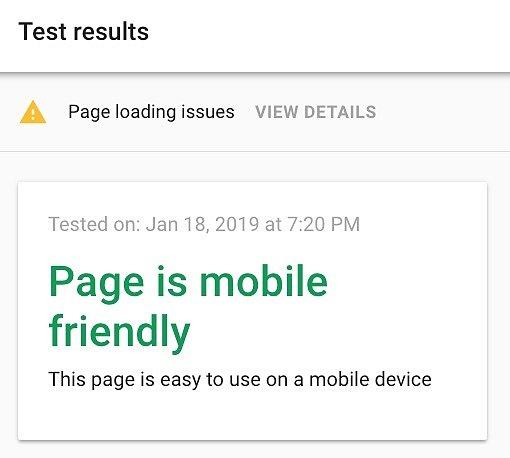 Google Test Friendly